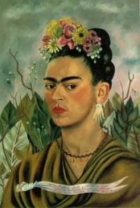 Auto-portrait au singe, 1938 FRIDA KAHLO