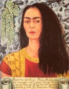 Auto-portrait aux cheveux défaits, 1947