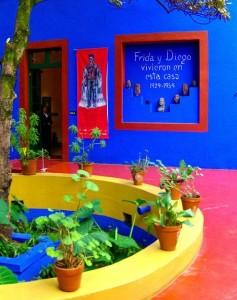 La Casa Azul, maison de Frida Kahlo à Coyoacan au Mexique