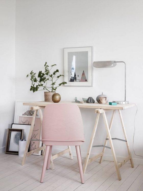 bureau pink