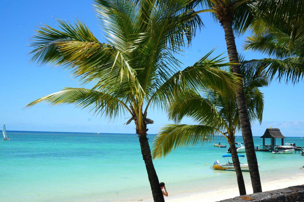 La somptueuse plage de Trou aux Biches dans le nord de l'île