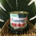 bougie maona à la cire de soja flamingo