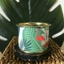 détail bougie parfumée à la cire de soja par Maona