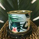 Bougie motif tropical Maona à la cire de soja