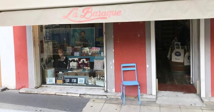 Magasin La baraque Concept store à Nice