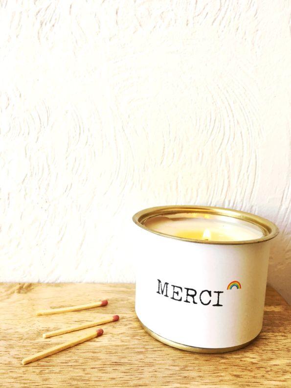 BOUGIE PARFUMEE MERCI2