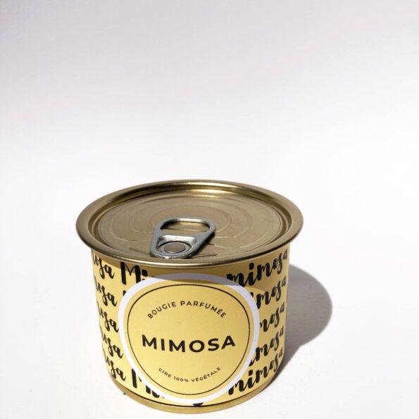 bougie intemporelle mimosa